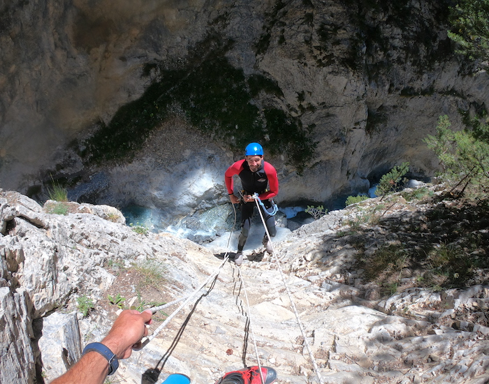 canyon acles rappel