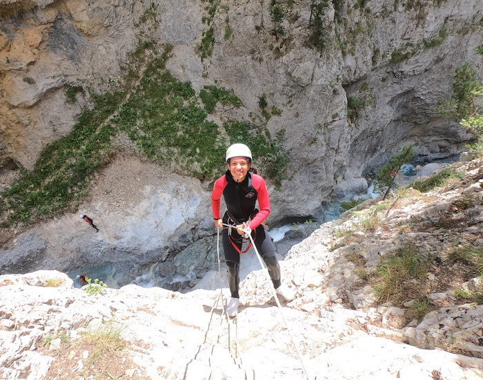 canyon acles serre chevalier