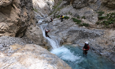 canyon des acles serre chevalier