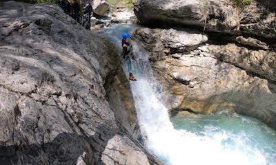canyon fournel serre chevalier