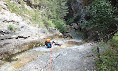 canyon de tramouillon serre chevalier