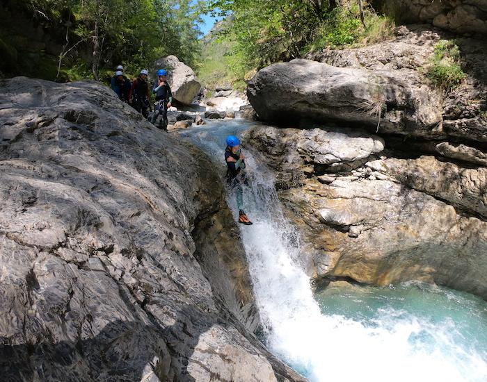 canyon fournel cascade