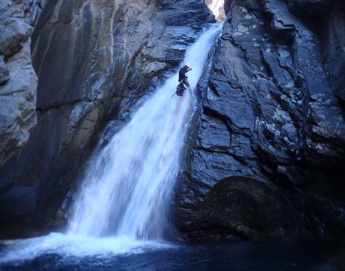 canyon oules cascade